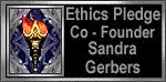 The Ethics Pledge Co-Founder Badge-Opens in a new window.