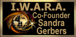 I.W.A.R.A. Co-Founder Badge-Closed